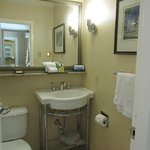  Bathroom, small but spotless.